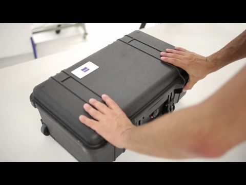 Carl Zeiss Lenses - A day with CP.2 transport cases