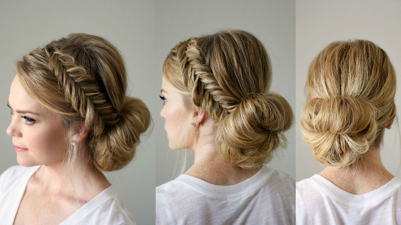 free hair style fishtail braid updo sue 4523