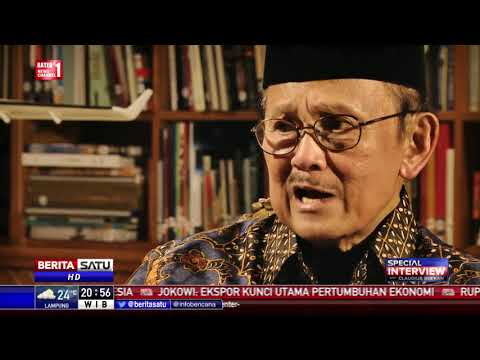 Special Interview BJ Habibie: Jokowi, Pesawat R80, dan My Way #5