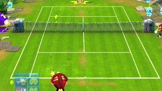 [PS2] Sega Superstars Tennis Gameplay