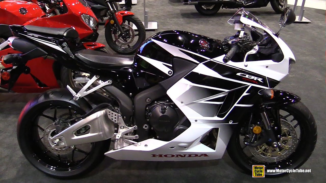 Honda Cbr1000rr Review >> 2016 Honda CBR600RR - Walkaround - 2015 AIMExpo Orlando - YouTube