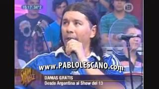 DAMAS GRATIS EN EL SHOW DEL 13 PARAGUAY 2013