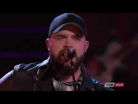 The Voice 2016 Josh Gallagher   Top 10 Real Good Man 1