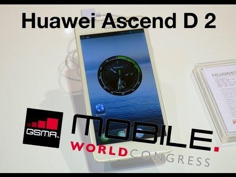 MWC 2013 Probamos el Huawei Ascend P2