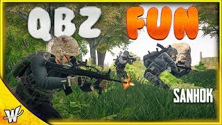 PUBG Sanhok Release - QBZ Fun Times   The PUBG Adventure   PUBG FPP Squad Gameplay