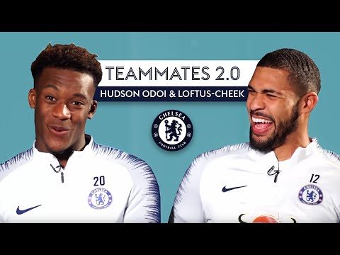 Which Chelsea player has the WORST fashion-sense? | Teammates 2.0 | Hudson Odoi & Loftus-Cheek