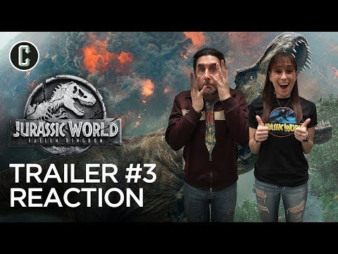 Jurassic World: Fallen Kingdom Trailer #3 Reaction & Review