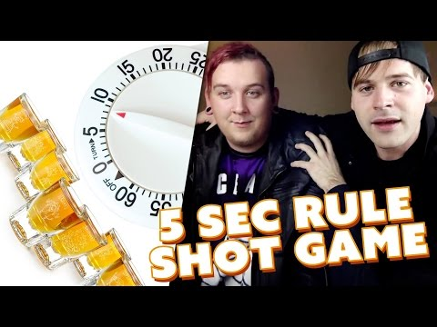 5 Second Rule (SHOT GAME)