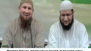 Pierre Vogel predigt in einer Moschee von Abu Ishak Al Heweny