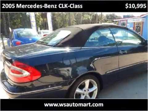 2005 Mercedes-Benz CLK-Class Used Cars St Augustine FL