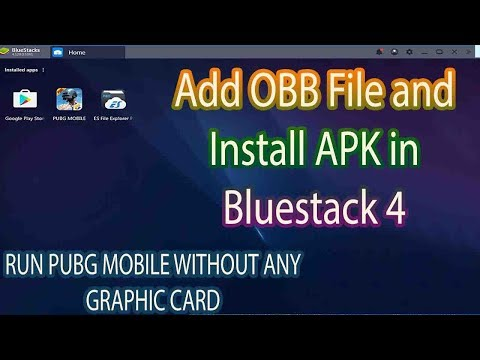 How To Add Pubg Obb File In Bluestacks || How To Add Android Obb File In Pc || Urdu / Hindi