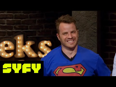 GEEKS WHO DRINK s Rob Kazinsky vs. Dominic Monaghan in