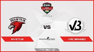 CS:GO|Invictus vs VAC Banned(OverPass)|ESL India Premiership 2018| Summer Season | May | Day 36