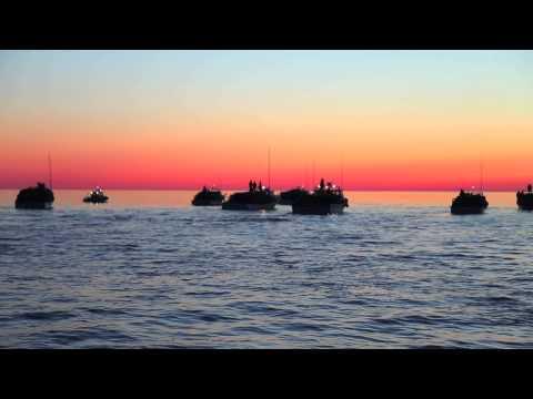Lobster Fishing At Sunrise - Escuminac, NB - Canada