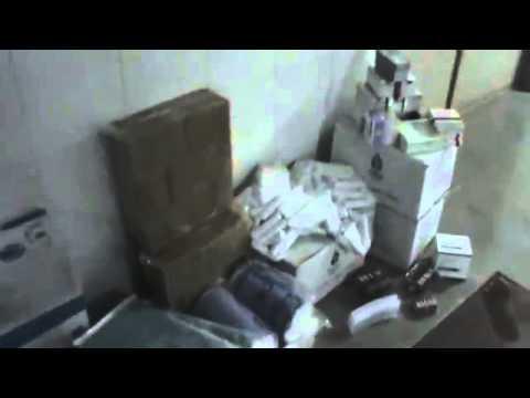 SAMS, Medical supplies to Kafarbatna hospital, Damascus suburbs