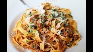 Рагу Болоньезе для спагетти болоньезе, лазаньи. Мясной соус для пасты