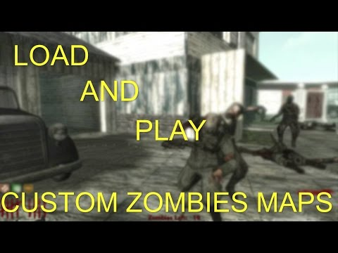how to create a custom waw zombie map