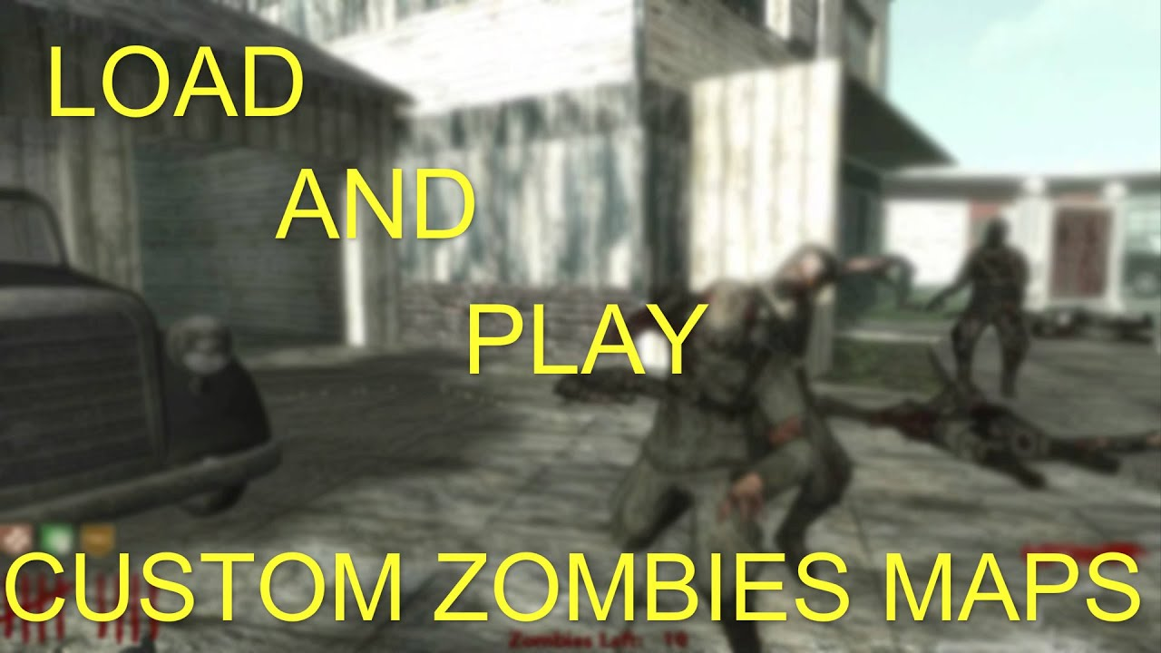 How To Load and Play Custom WaW Zombies Maps. [Windows 8/8.1] - YouTube