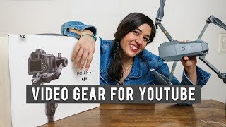 Video Gear for Film Making | Types of Audio Gear for Youtube| My Updated Camera Gear for Travel thumbnail