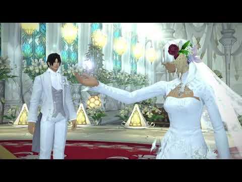 挙式」(Akaさん。Nikaさんご夫...