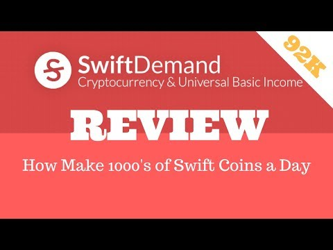 92K SwiftDemand Coin Learn How to Make Money With Swift Demand ICO - Swift Demand Review