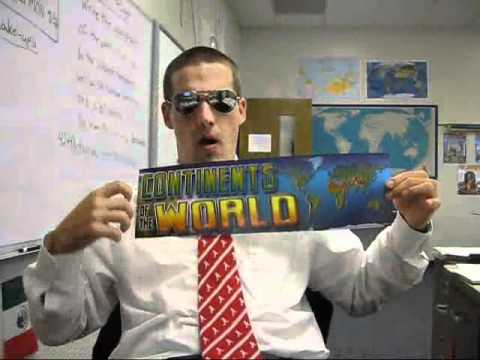 Mr. Honish's Continents And Oceans Rap