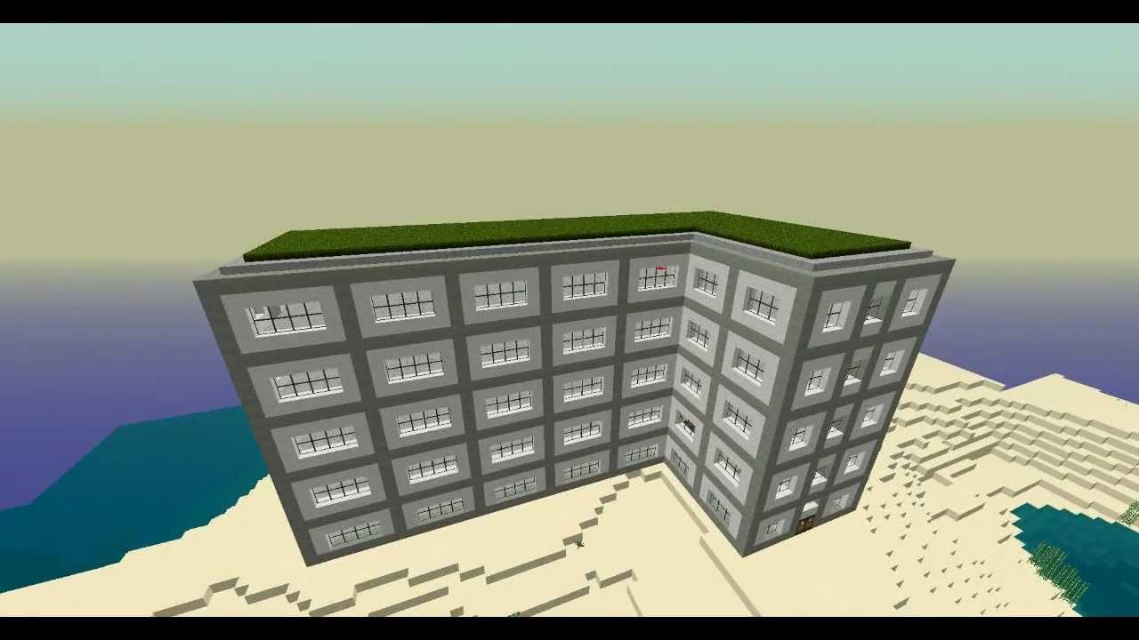 Minecraft Modern Apartment Minecraft Appartement Moderne