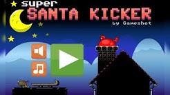 Super Santa Kicker cool math games Walkthrough Levels 1 - 36