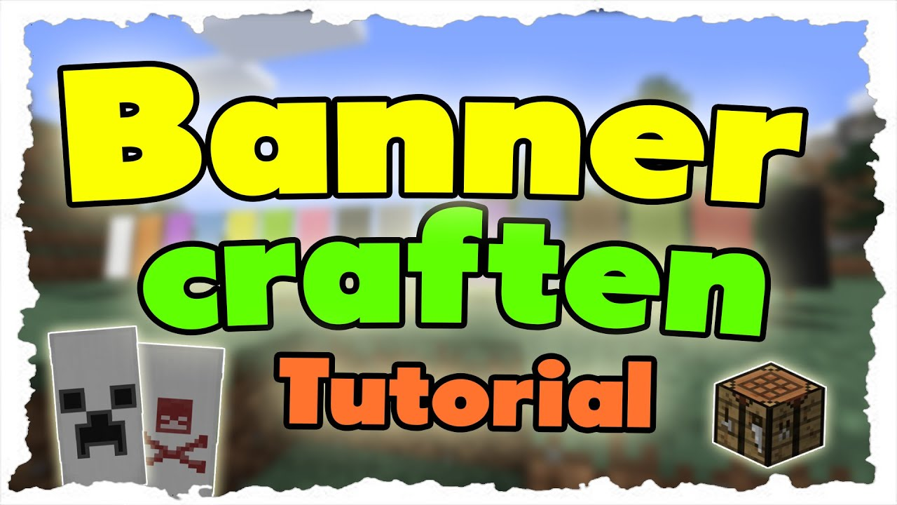 Alle Minecraft Banner craften [Craftingrezepte] (Tutorial) Alle ...