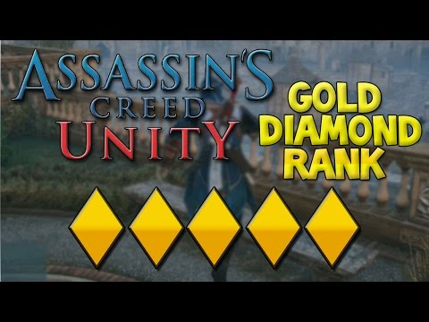 Assassin's Creed Unity: How To Get 5 Gold Diamonds (Ranking Guide) Legendary Armour