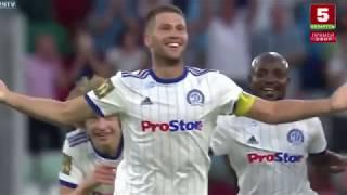 Динамо Минск - Зенит 4:0 Обзор матча HD   Лига Европы