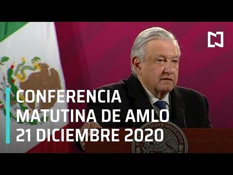 Conferencia matutina AMLO/ 21 de diciembre