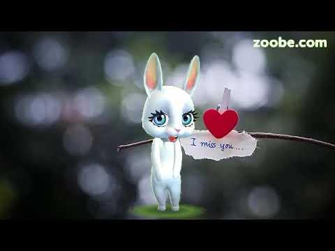 Zoobe Зайка Я так скучаю! Очень красивая песня