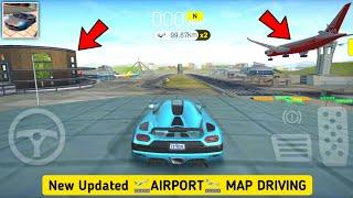 Extreme Car Driving Simulator New Updated AIRPORT MAP Driving Gameplay 2021 - Version 6.0.1 screenshot 2