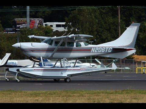Cessna 206 Soloy into Wiscasset, Maine