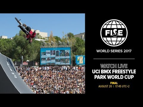 FISE Budapest 2017: UCI BMX Freestyle Park World Cup Men Final