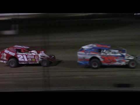 Ransomville Speedway Modified Feature Highlights 7-7-17