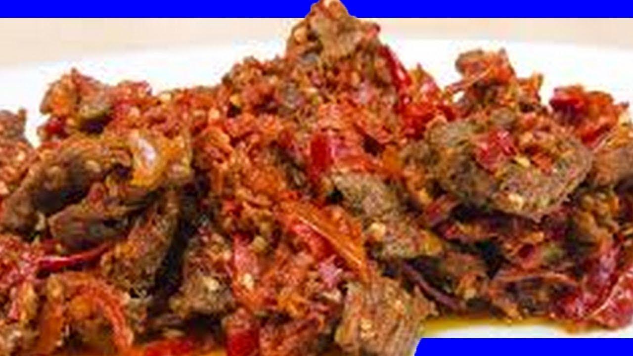 Resep sambal goreng daging sapi selera rasa - YouTube