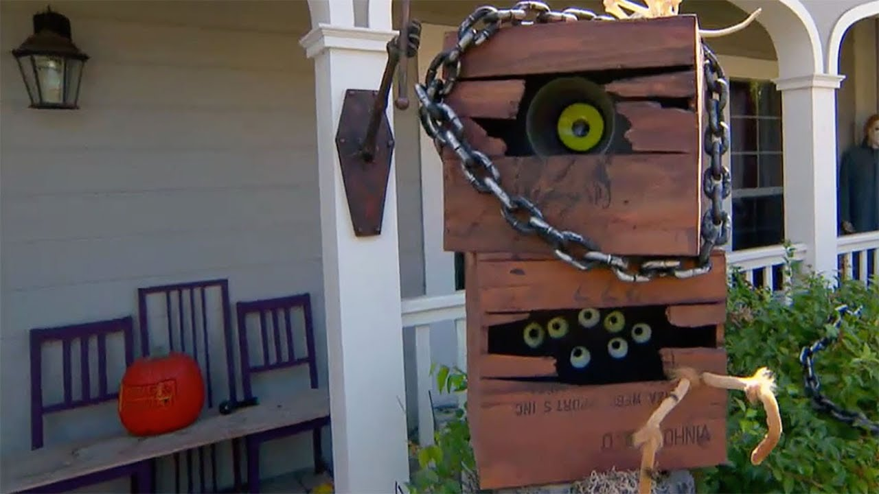 Do It Yourself Monster Mailbox - YouTube - photo#15