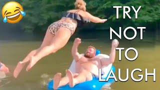 [2 HOUR] Try Not to Laugh Challenge! Funny Fails 😂 | Fails of the Week | Fun Moments | AFV