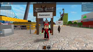 My Roblox Vacation part 1 Disney World Ultimate Theme Park!! By zonex