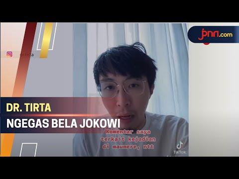 Respons Keras dr. Tirta Terkait Kerumunan Jokowi di NTT