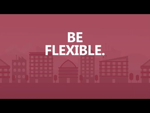 Save Big in 30 seconds a day: Be flexible.