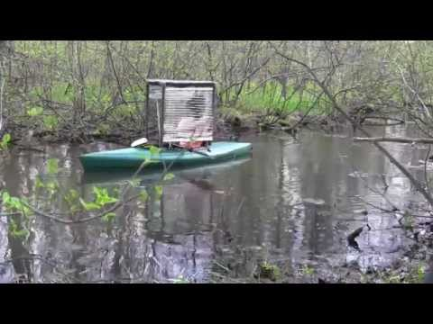 Sub Rock S Custom Kayak Canopy W Blinds Youtube