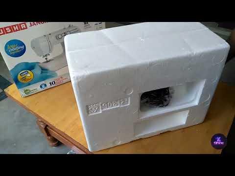 USHA Janome wonder stitch Automatic sewing machine review | unboxing | from Amazon| kshine