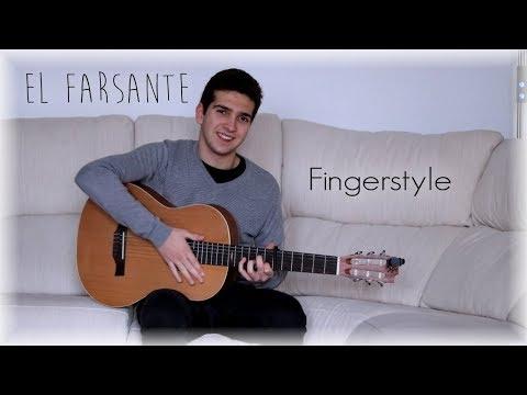 El Farsante Remix - Ozuna, Romeo Santos - Cover Guitarra (Fingerstyle)