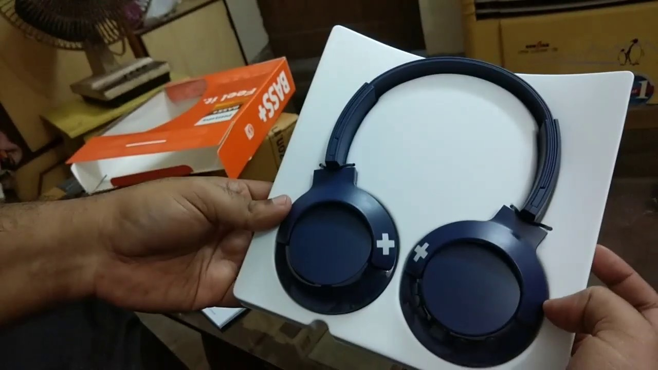 Unboxing Philips Wireless Bass Headphone With Mic Shb3075 Youtube