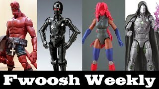 Weekly! Ep104: Star Wars, Marvel Legends, Hellboy, Aliens, DC Multiverse, MAFEX and more!