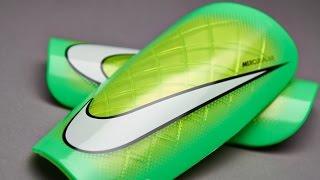 Видеообзор щитки Nike Mercurial Lite Shinpads - SP0284 371 (распаковка, unboxing).