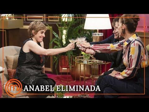 ANABEL se despide ¡por todo lo alto! y manda un mensaje para Tamara | MasterChef Celebrity 4